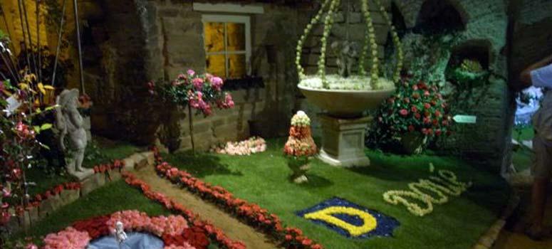Soci t fran aise des roses visite de jardin par la soci t en 2012 altera rosa avignon - Jardin de la rose doue la fontaine ...